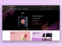 YSL Concept ysl perfume fashion ecommerce beauty