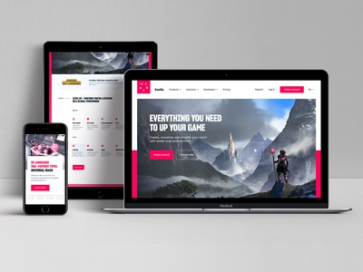 The New Xsolla.com launched! illustration sketch responsive brand refresh art direction web ui kit product design gaming