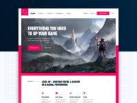 Full Xsolla Home Page Design
