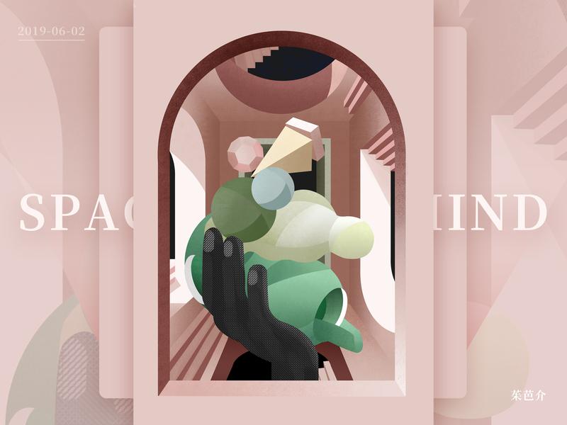 Space ui design movement 手绘 hand-painted 设计 ps