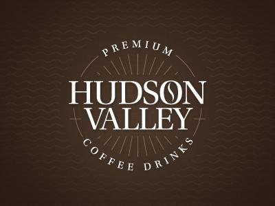 Hudson Valley Coffee Logo hudson valley coffee logo grajon packaging premium drinks