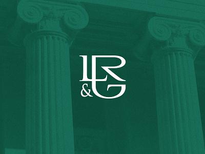 LR&G Monogram monogram legal law firm branding logo grajon l r g