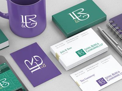 LR&G Business Cards / Branding law firm l r g business cards branding grajon