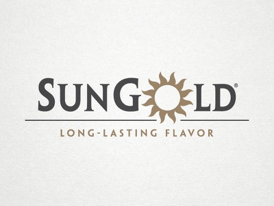 SunGold Logo sungold logo design sunflower seeds grajon
