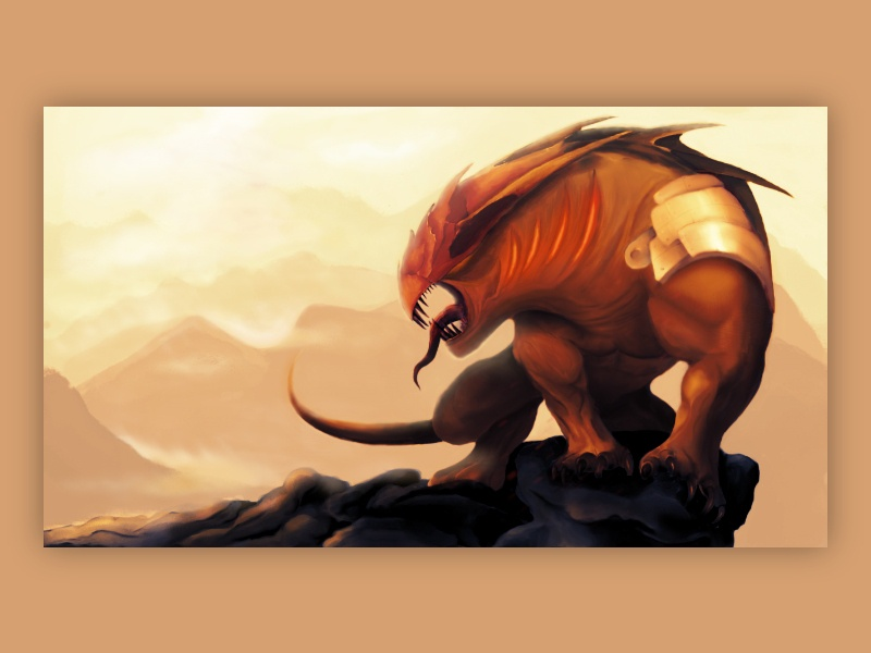 """The Beast"" Concept Art"