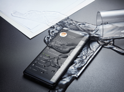 Mobile Side Menu Design