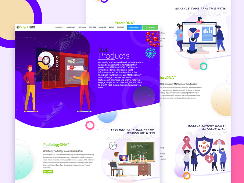 Product Landing Page Design