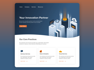 Innovation Homepage Exploration