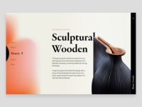 "Concept ""Sculptural Wooden"""