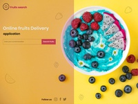 Online fruits delivery application