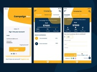 Crowdfunding exploration app for android
