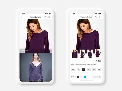 DexterDexterDexter_Online_fashion_shop branding design user interface user experience design app website ux ui application ui app design applications application