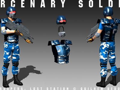 Star Troopers: Lost Station - Mercenary Soldier