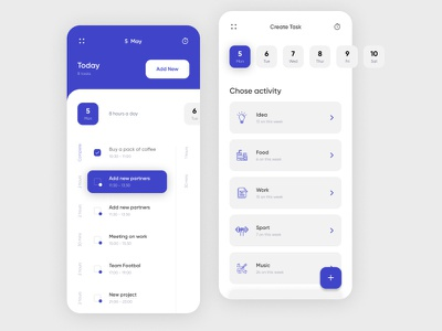 To do list mobile vector interface inspiration flat daily ui app web  design web ux ui design creative concept todolist todo days day task list task