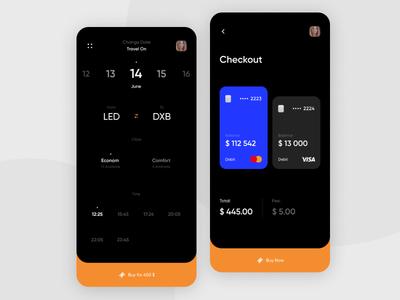 Travel app branding web web  design app daily ui mobile app mobile ux ui design creative concept card travel app ticket app airplane sales checkout page ticket travel