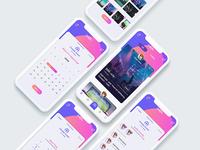 Event planning app designs