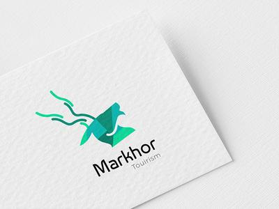 Logo Concept Markhor Tourism