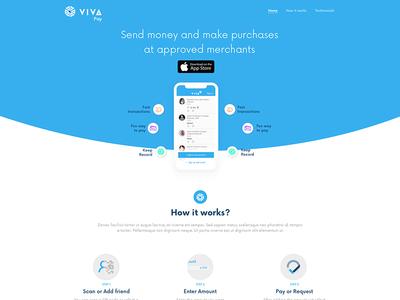 VIVA Pay homepage