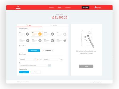 Send Amount Crypto Wallet