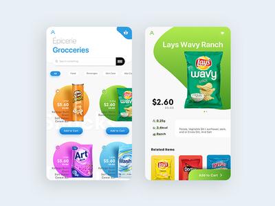 Groccery App Design