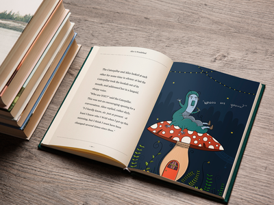 Alice In Wonderland print product design childrens books childrens book illustration childrens illustration procreate character design design sketchbook illustration digital art art
