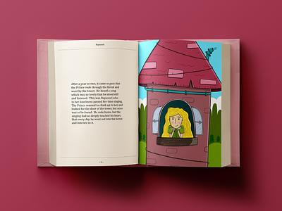 Rapunzel rapunzel publishing storybook childrens books childrens illustration product design print procreate character design design sketchbook illustration digital art art
