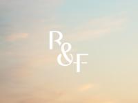 R&F Wedding Monogram