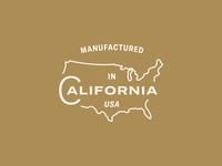 Manifactured in California, USA