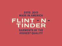 Logo Exploration #1 - Flint and Tinder