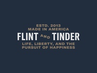 Logo Exploration #2 - Flint and Tinder
