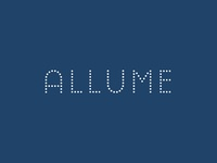 Allume - Alternative Wordmark