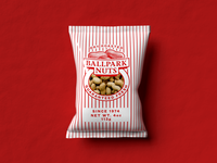 Ballpark Nuts Packaging