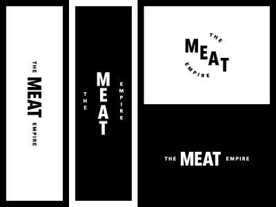 The Meat Empire - Exploration #2 food packaging visual identity branding logo