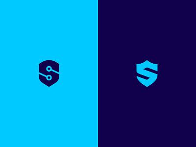 S-Shields illustration stamp brand typography lettering shield visual design icon monogram identity design exploration logo