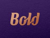 Bold - Wordmark