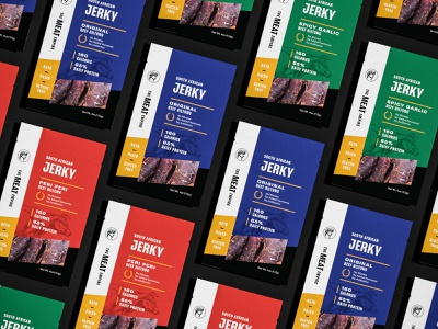 The Meat Empire - Packaging print design food and beverage food packaging design food packaging food beef jerky