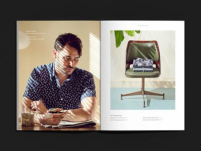 Trumaker - Spring '17 Lookbook menswear fashion editorial print production print design print lookbook