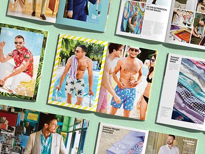 Summer Miami Catalog graphic design press print production lookbook print design print ad catalog