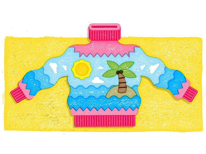 Summer Sweater illustration