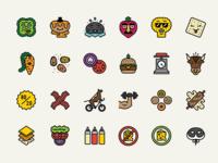 Burger Icons