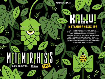 Kaiju! Beer hops weird beer
