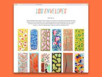 100 Envelopes!