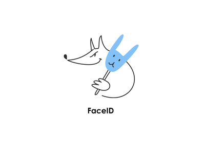 iOS / MacOS / iPadOS animal icons set from Yak project ipados worm squirrel sheep fox antivirus update touch id apple id face id touchid password pass appleid icloud faceid
