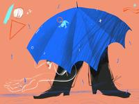 Fall rainy days