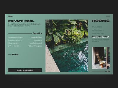 Hotel Room hotel branding hotel booking minimalist minimal identity branding web design grid layout grid clean design clean ui webdesign website hotel website hotel room