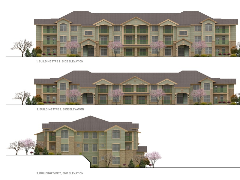 2D Color Elevation Rendering for Condominiums in Colorado visualization floorplan 3dmodelling 3dsmax 3d 2d building design designs condominiums elevation rendering homebuilder exterior realestateagent realestate property architect 3drendering realtor architecture