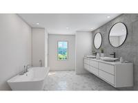 Bathroom Interior 3D Rendering
