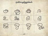 தமிழ் உயிரெழுத்துக்கள் (Tamil Uyireluthukkal)