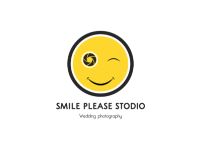 Logo design camera smile shutter smiley logo smiley logo design logo