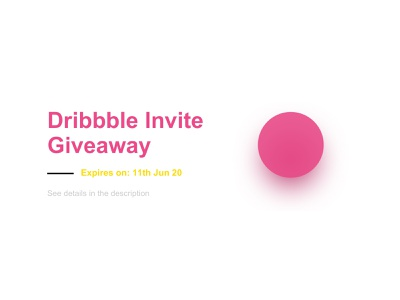 Dribbble invite giveaway from VSTORM invitation design give away giveaway giveaways dribbble invitation invites invitations invitation card invitation invite dribbble invite